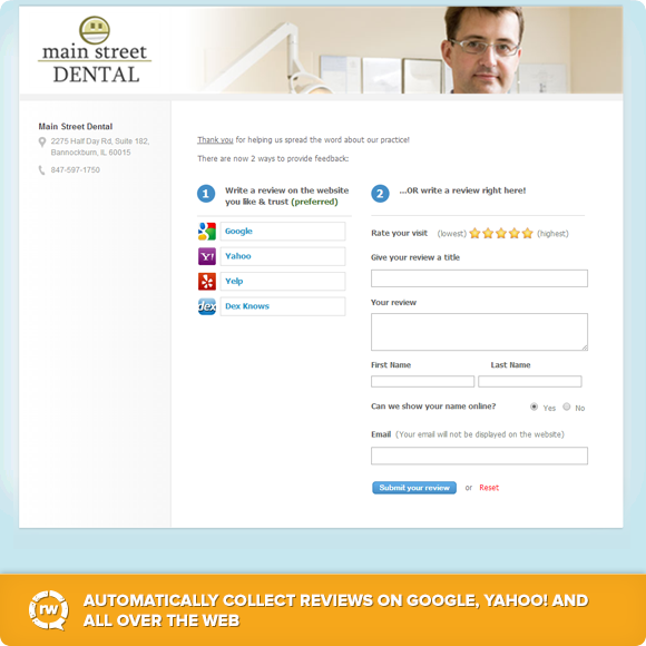 Collect Online Reviews