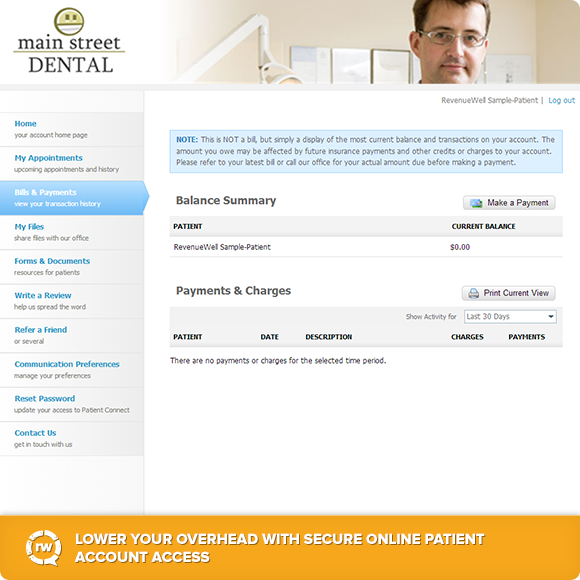 Online Patient Account Access
