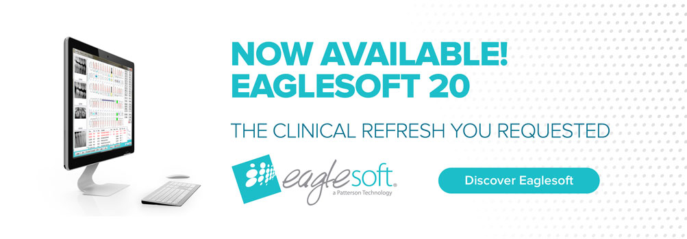 Eaglesoft 20 is now available, click here for more information