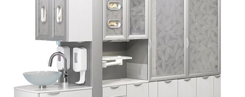 A-dec Inspire Dental Cabinetry