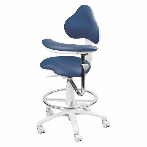 Brewer 9100 Series Assistant Dental Stool