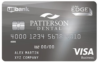 Image of the Patterson Dental Equipment Finance Card