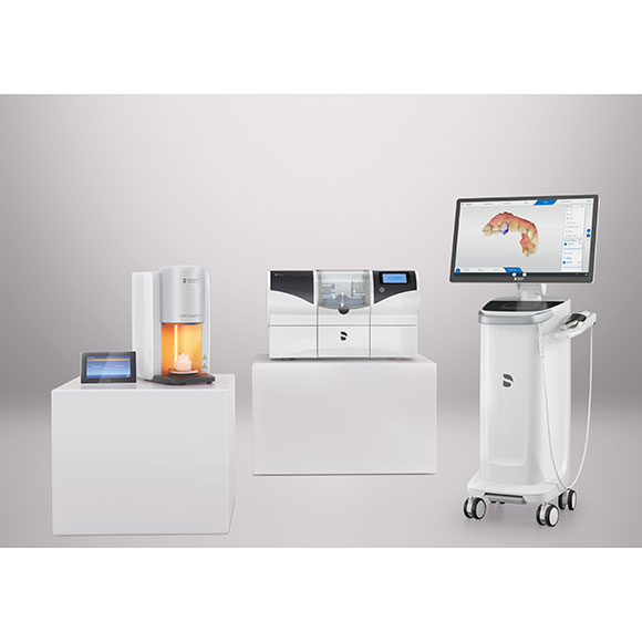 Image of the Dentsply Sirona CEREC Primescan AC family